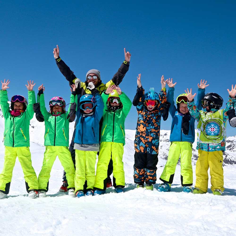 enfants station VT ski