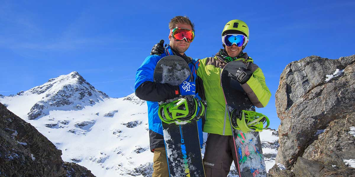 Snowboard private lessons prosneige school