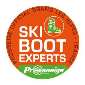 prosneige ski boot fitting logo