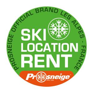 Prosneige ski rental logo