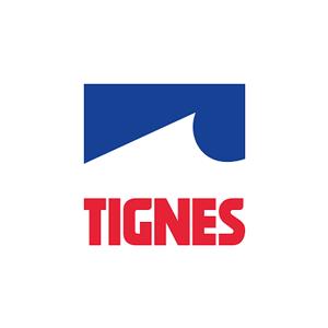 logo tignes ski resort ski school