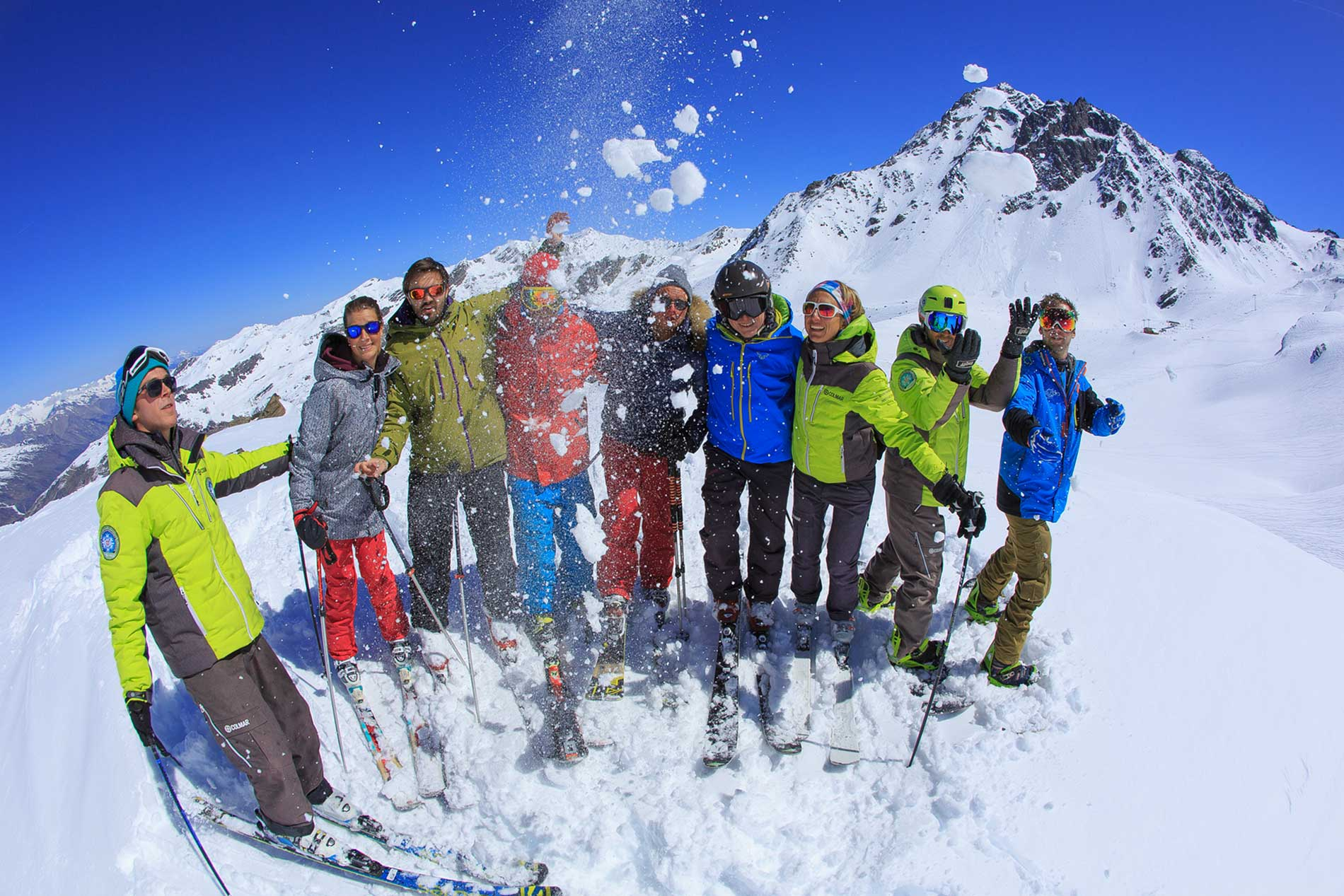 Ski group lessons adults Prosneige