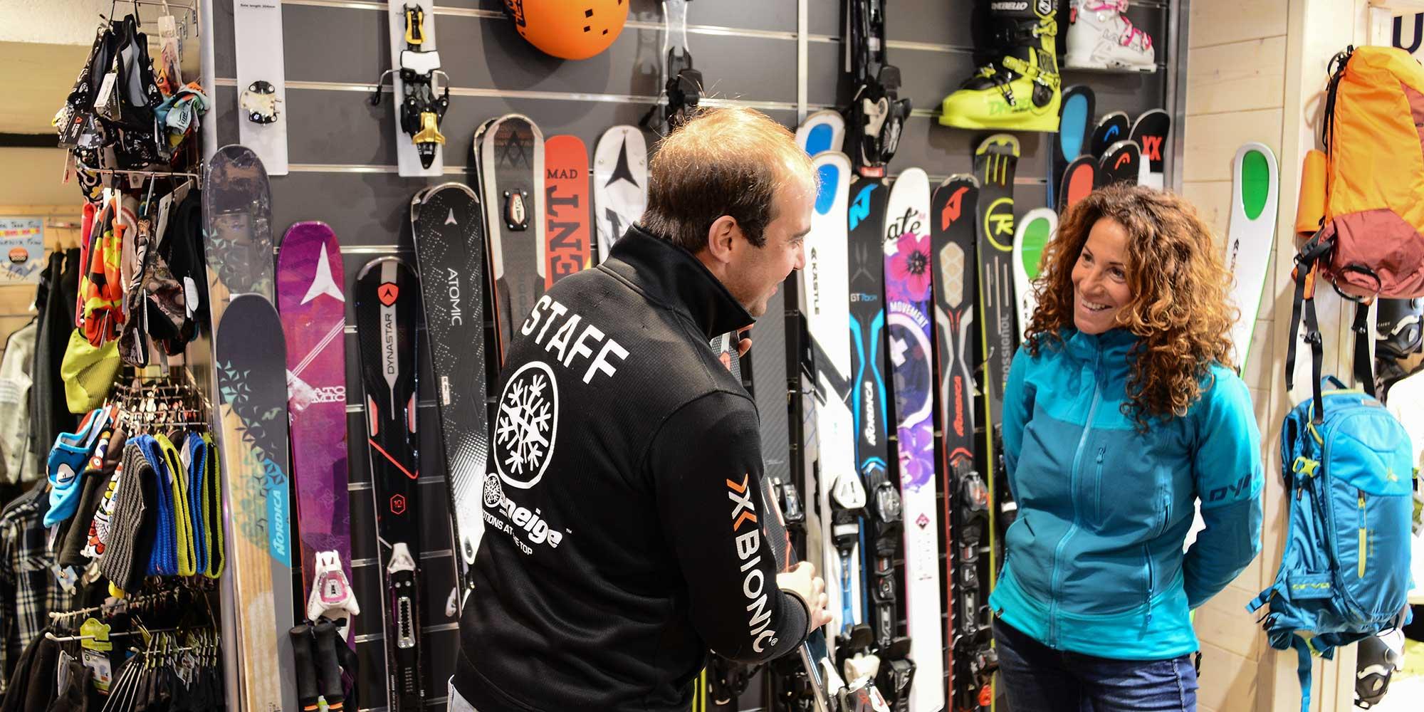 choosing your adult rental skis