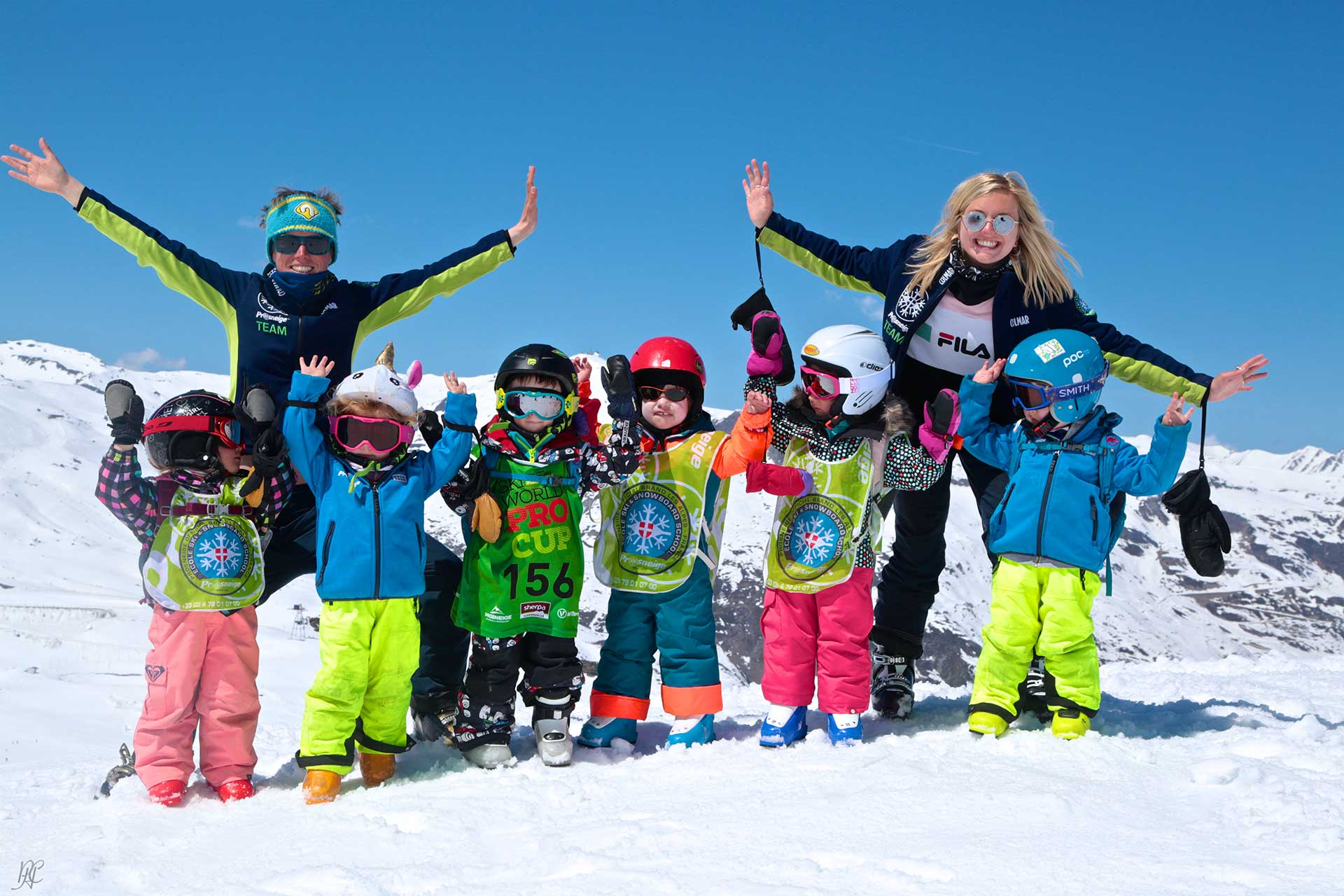 ski group lessons children prosneige