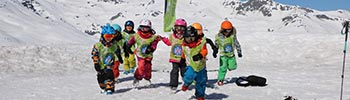 ski group lessons for children Prosneige