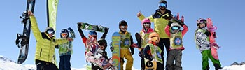 snowboard group lessons for children
