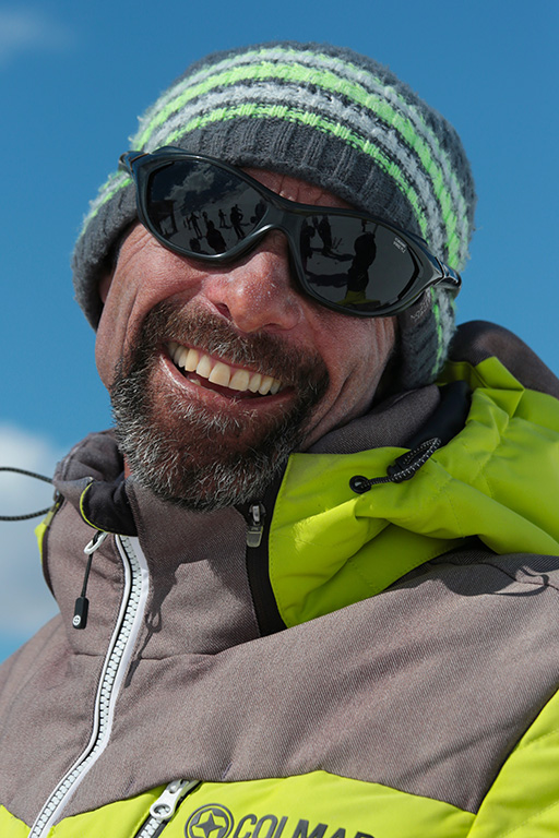 Ski instructor Prosneige Val Thorens Alain Poux