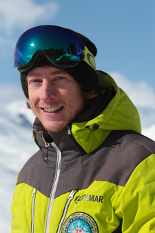 Ski instructor Prosneige Val Thorens Alan Philippe