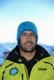 Ski instructor Prosneige Les Menuires Alessandro Miglia