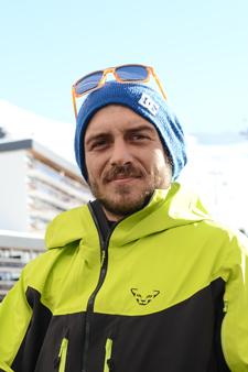 Ski instructor Prosneige Les Menuires Andrea Chiariello