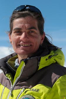 Ski instructor Prosneige Val Thorens Frederique Vallee