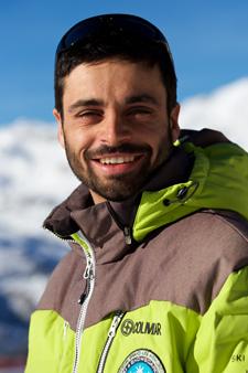 Ski instructor Prosneige Val Thorens Nathan Delacoste