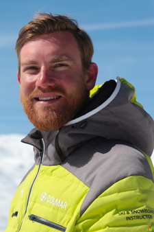 Ski instructor Prosneige Val Thorens Stephane Leherpeux