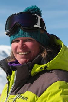 Ski instructor Prosneige Val Thorens Tatiana Robert
