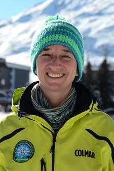 Ski instructor Prosneige Les Menuires Barbara Strano