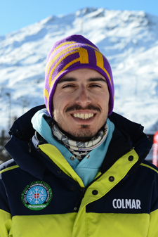 Ski instructor Prosneige Les Menuires Federico Calligaris