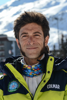 Ski instructor Prosneige Les Menuires Vincent Suchel