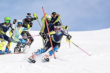 Training slalom