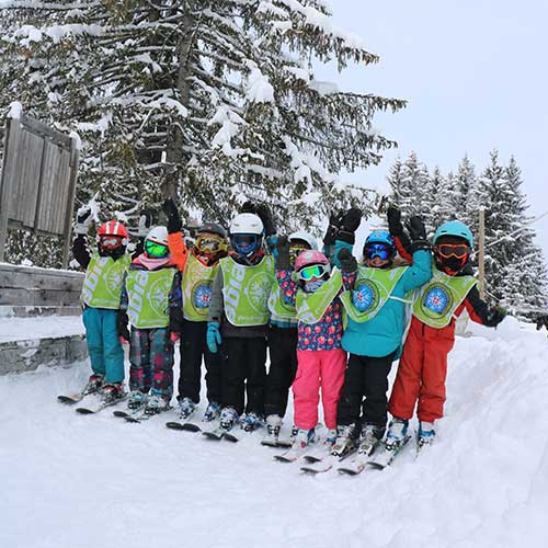 ski lessons group or private for children
