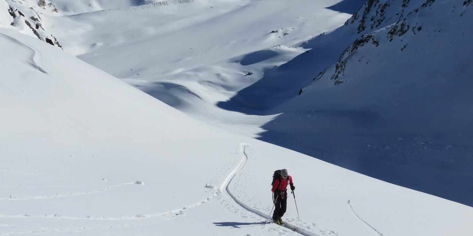 ski touring freerando skiing