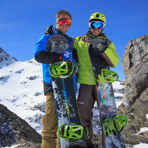 snowboard lessons with passionated instructors