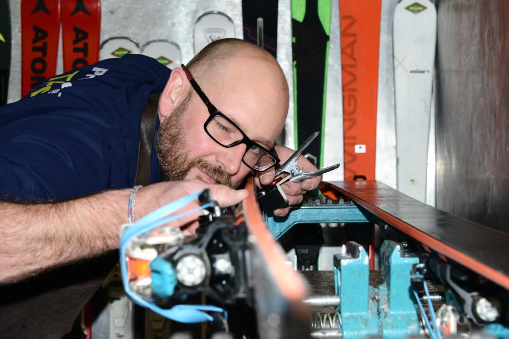 skiman ski service maintenance