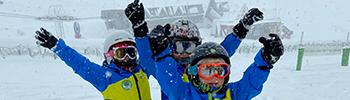 prosneige mini riders ski school